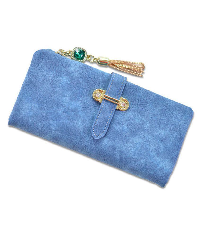 Elios Blue Wallet