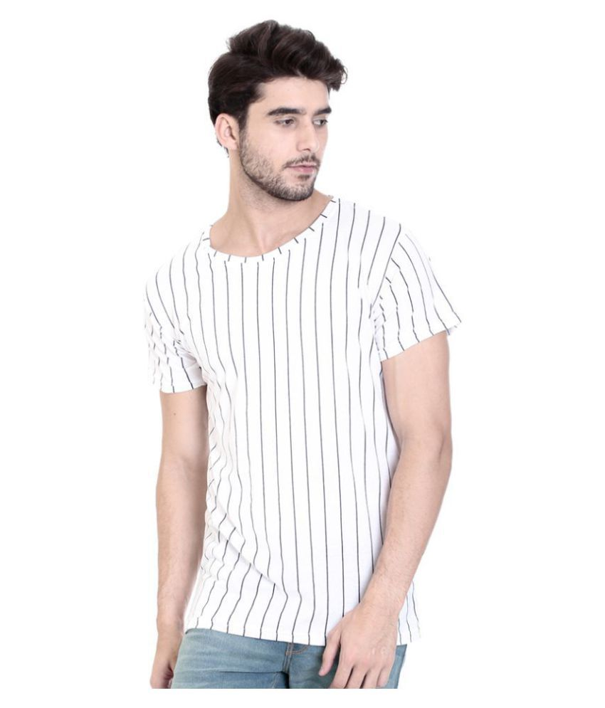 ROCX White Half Sleeve T-Shirt