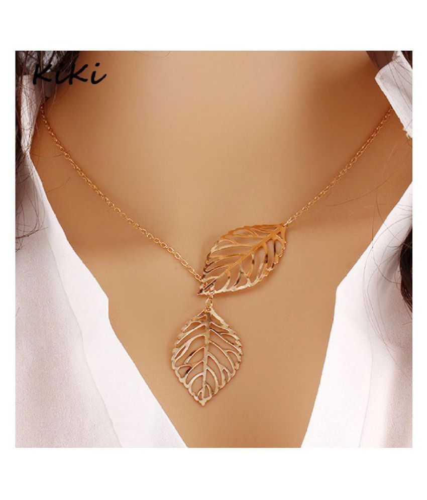 Pakeeza Alloy Golden Other Designer Necklace