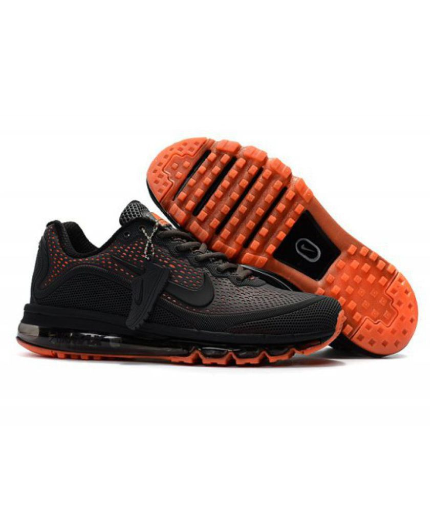 new product a8a10 74d23 Nike AIRMAX 2018 Black Training Shoes - Buy Nike AIRMAX 2018 Black Training  Shoes Online at Best Prices in India on Snapdeal
