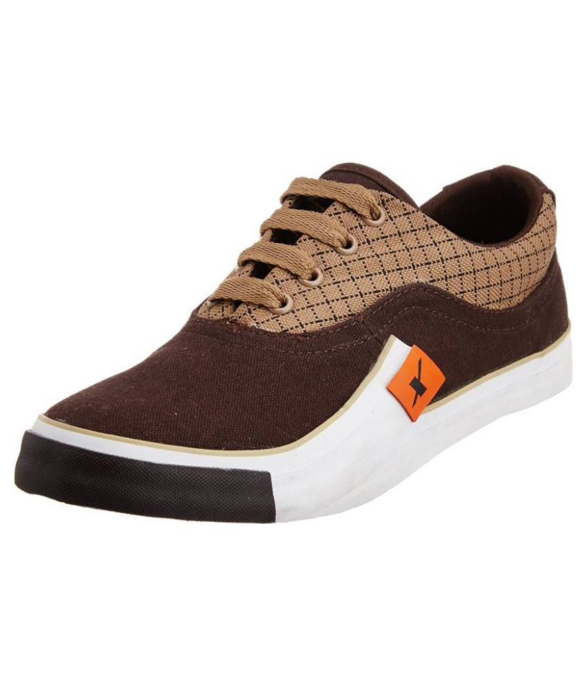 e19b9fa964e0 Sparx SPARX SM-198 Sneakers Brown Casual Shoes - Buy Sparx SPARX SM-198  Sneakers Brown Casual Shoes Online at Best Prices in India on Snapdeal