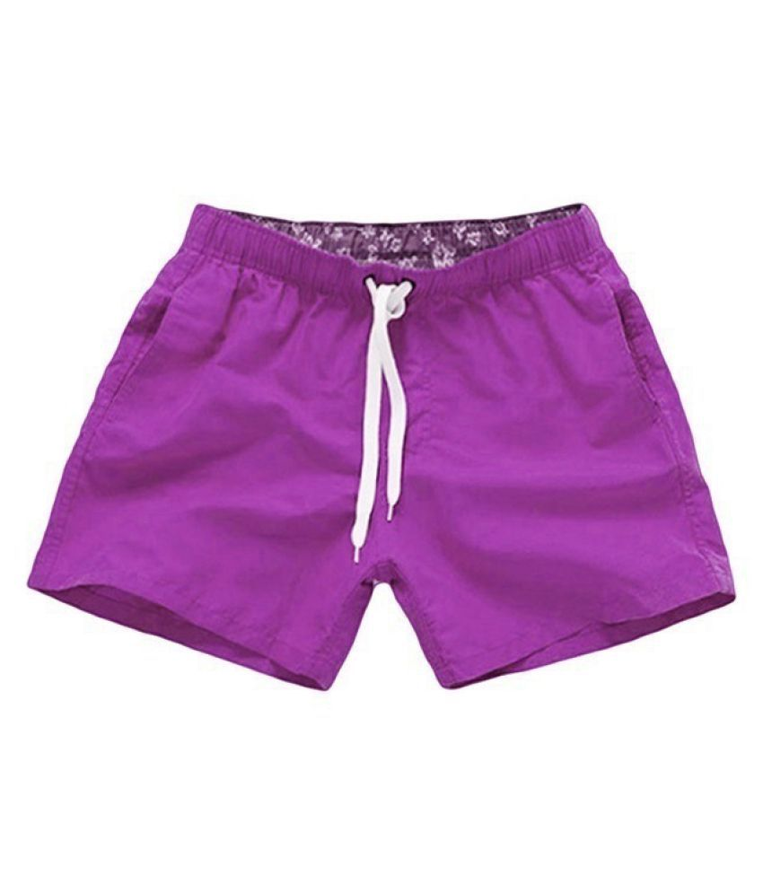 Changing Destiny Purple Shorts