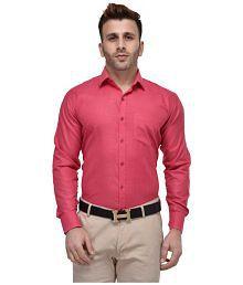 Hangup Pink Regular Fit Shirt