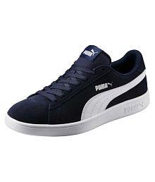 Puma Smash v2 Sneakers Navy Casual Shoes