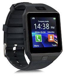 WDS Dz09 Smartwatch Suited Asus Pegasus 5000 - Black Smart Watches