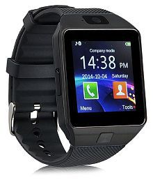WDS Dz09 Smartwatch Suited iBall Andi 4-B2 - Black Smart Watches
