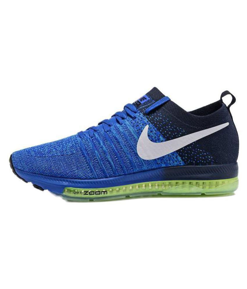 80f38725083 Nike 2017 Zoom All Out Blue Running Shoes - Buy Nike 2017 Zoom All ...