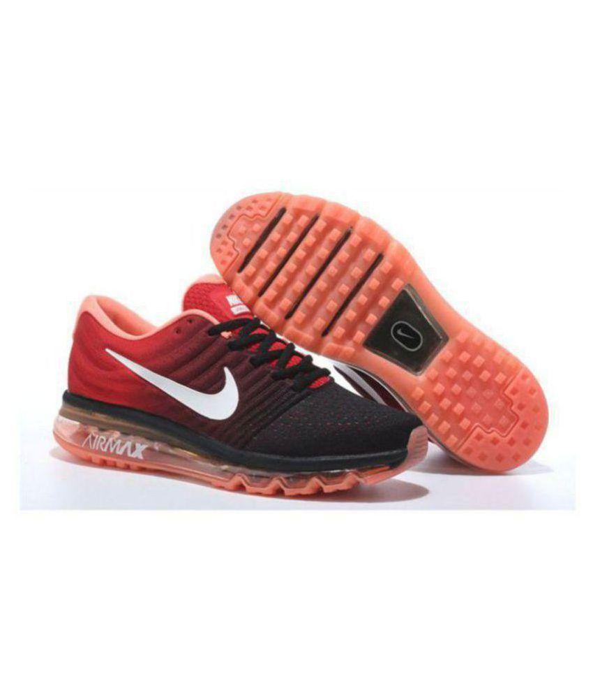pretty nice 291aa 2467f ... australia nike airmax 2017 orange running shoes 3fec4 91edb