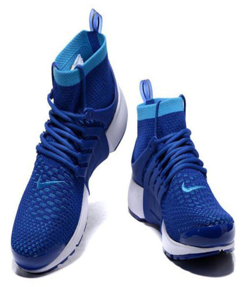 quality design 006d3 b3d05 ... Nike Air Presto Ultra Flyknit Blue Running Shoes ...