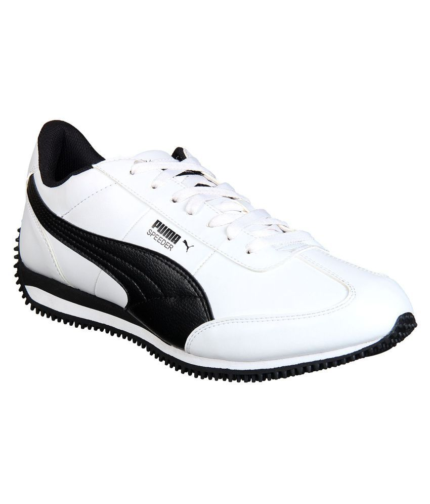 36d1ddc7aef Puma Velocity IDP White Casual Shoes - Buy Puma Velocity IDP White Casual  Shoes Online at Best Prices in India on Snapdeal