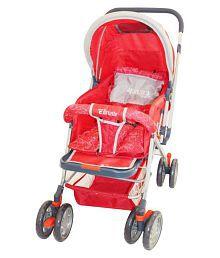 Brunte Baby Pram Stroller Red