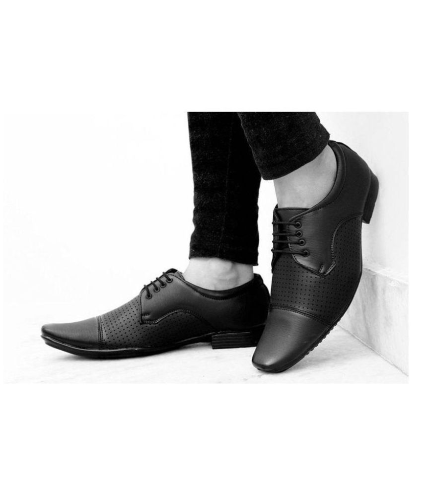 7d55d6a2a163 ARRFASHION Oxfords Black Formal Shoes Price in India- Buy ARRFASHION ...