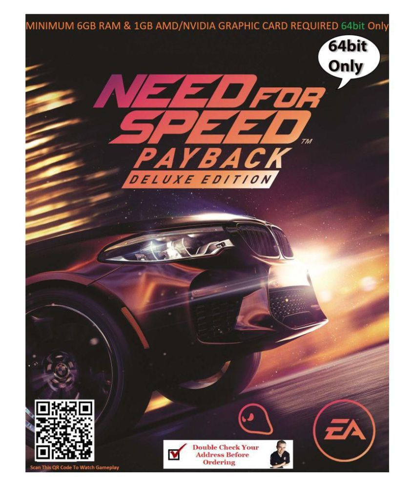 Need For Speed Payback (offline mode 64 bit) ( PC Game )