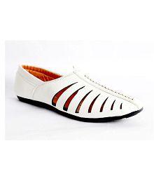 Samyra White Designer Shoe