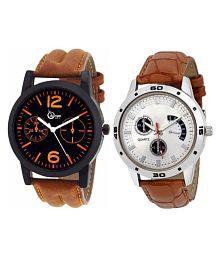 Stylish Watch Set Of 2 For Men & Boys