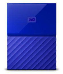 WD My Passport 4 TB External Hard Drive (Blue)