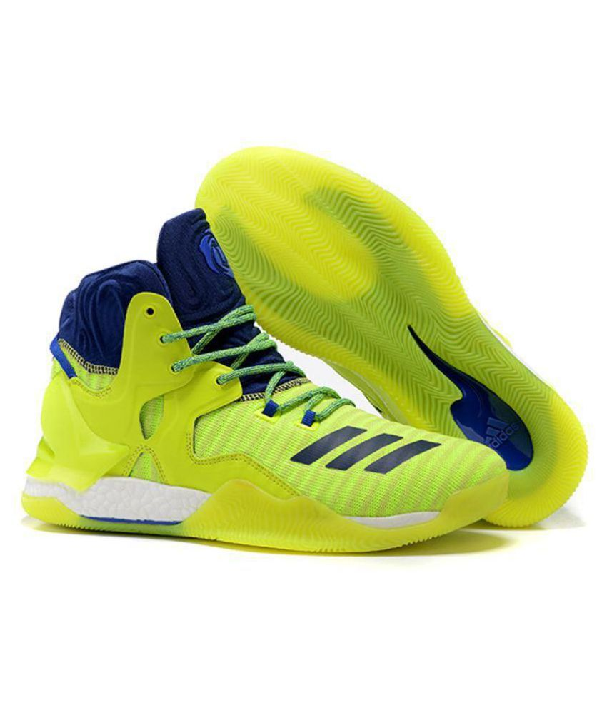 timeless design 72610 d2d1d Adidas D ROSE 7 PRIMEKNIT Green Basketball Shoes - Buy Adidas D ROSE 7  PRIMEKNIT Green Basketball Shoes Online at Best Prices in India on Snapdeal
