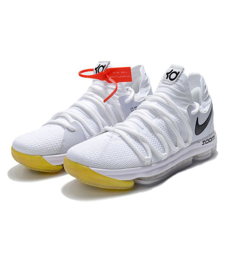 a44f118e4a4 View Order. Free Installation. Nike KD 10 White Basketball Shoes Nike KD 10  White Basketball Shoes ...