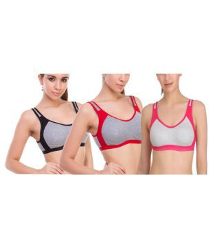 f184eec66c REEBOK Women Sports Bra(Multicolor)
