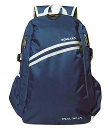 Bonmaro Blue Polyester College Bag