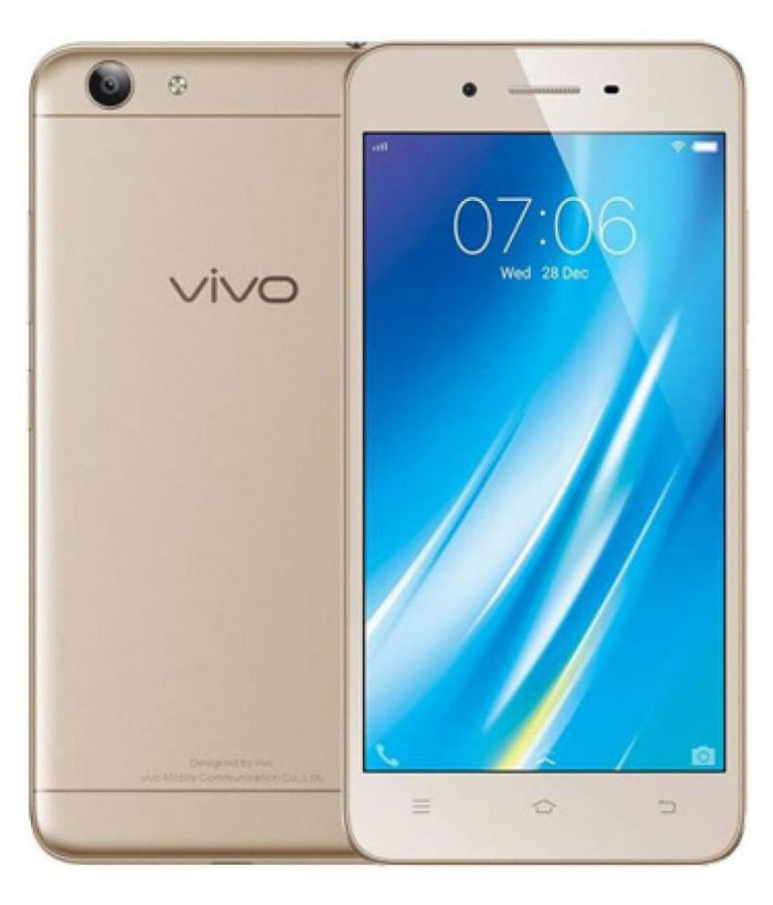 4583e70b8392 Vivo Crown Gold Y53 16GB Mobile Phones Online at Low Prices ...