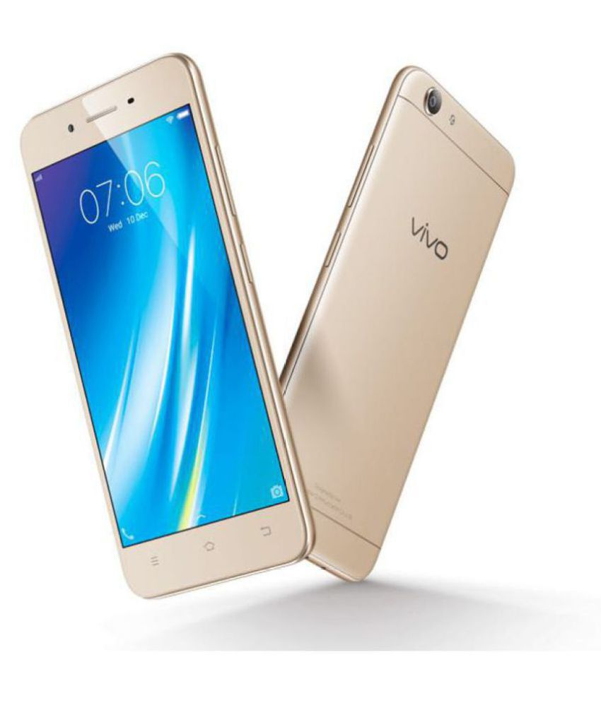 Vivo Y53 ( 16GB , 2 GB ) Crown Gold