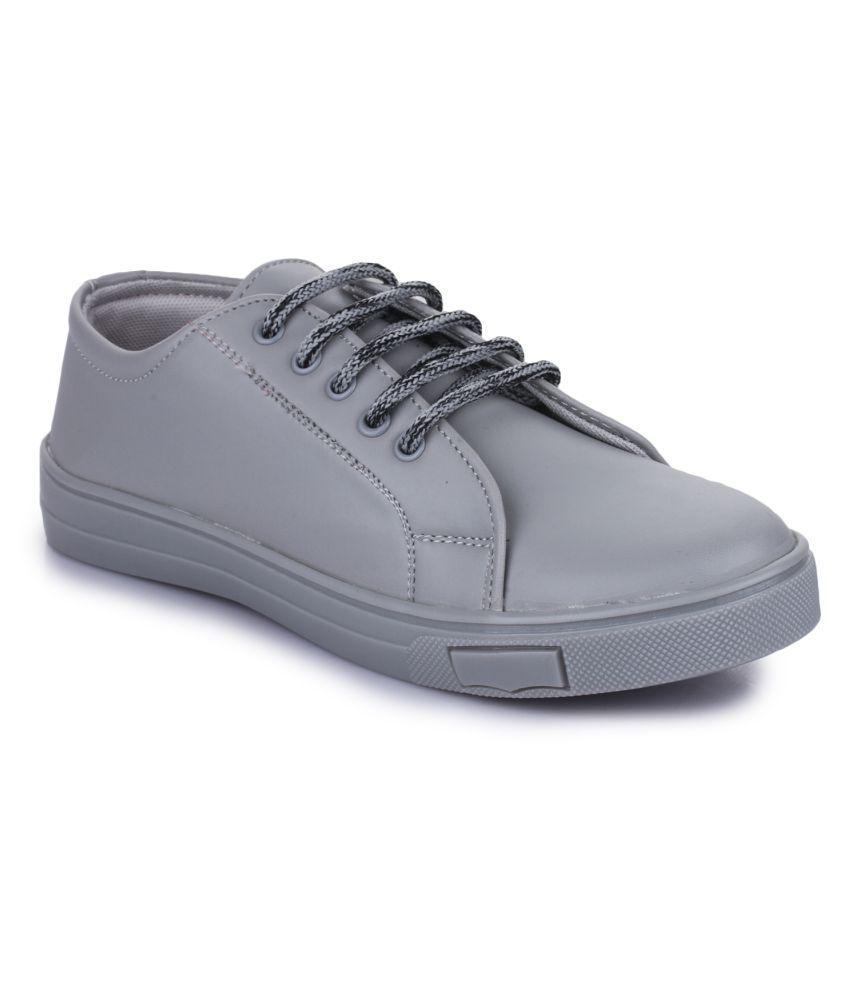 Fashtyle Gray Casual Shoes