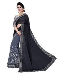 a32c24a3739c1f Black Saree  Buy Black Saree Online in India at low prices - Snapdeal