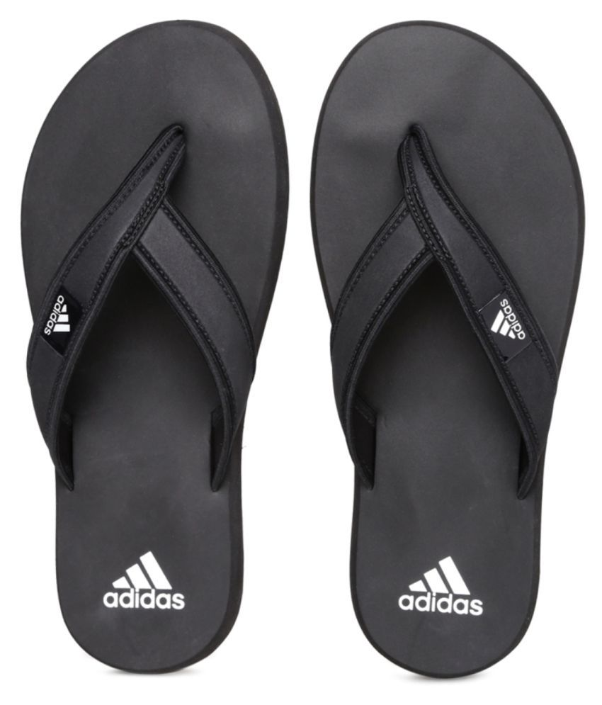 c5d0f5f78fab Adidas Adi Rio Official Black Daily Slippers Price in India- Buy Adidas Adi  Rio Official Black Daily Slippers Online at Snapdeal