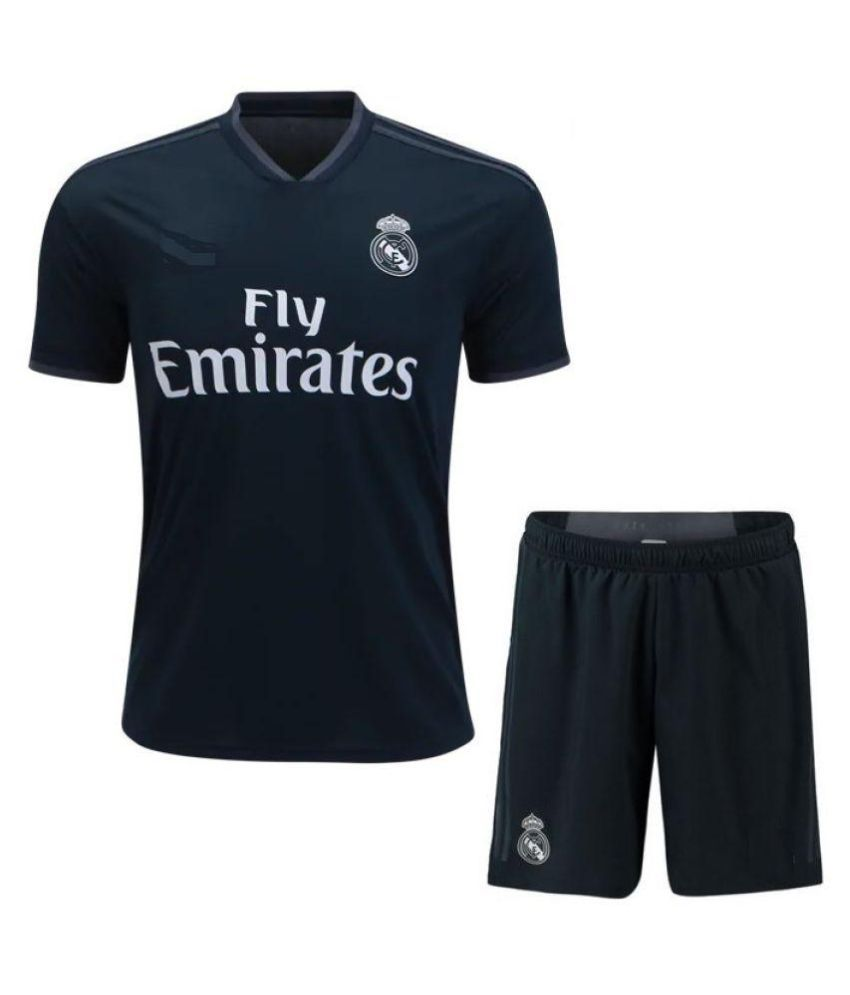 65b63d83527 REAL MADRID AWAY FAN JERSEY WITH SHORTS 18 19  Buy Online at Best Price on  Snapdeal