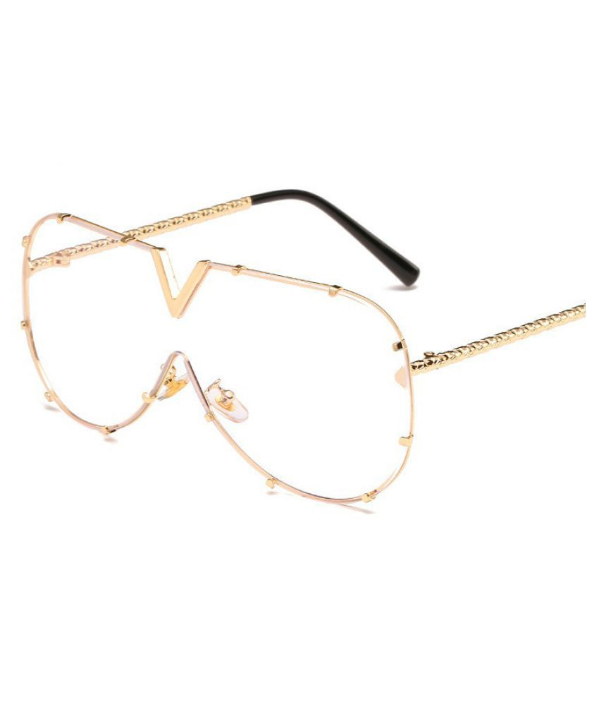 Swagger Contiguous Ocean Sunglasses Woman Large-frame Sunglasses Metallic Sunglasses Male Large-frame Sunglasses Sold by ZXG