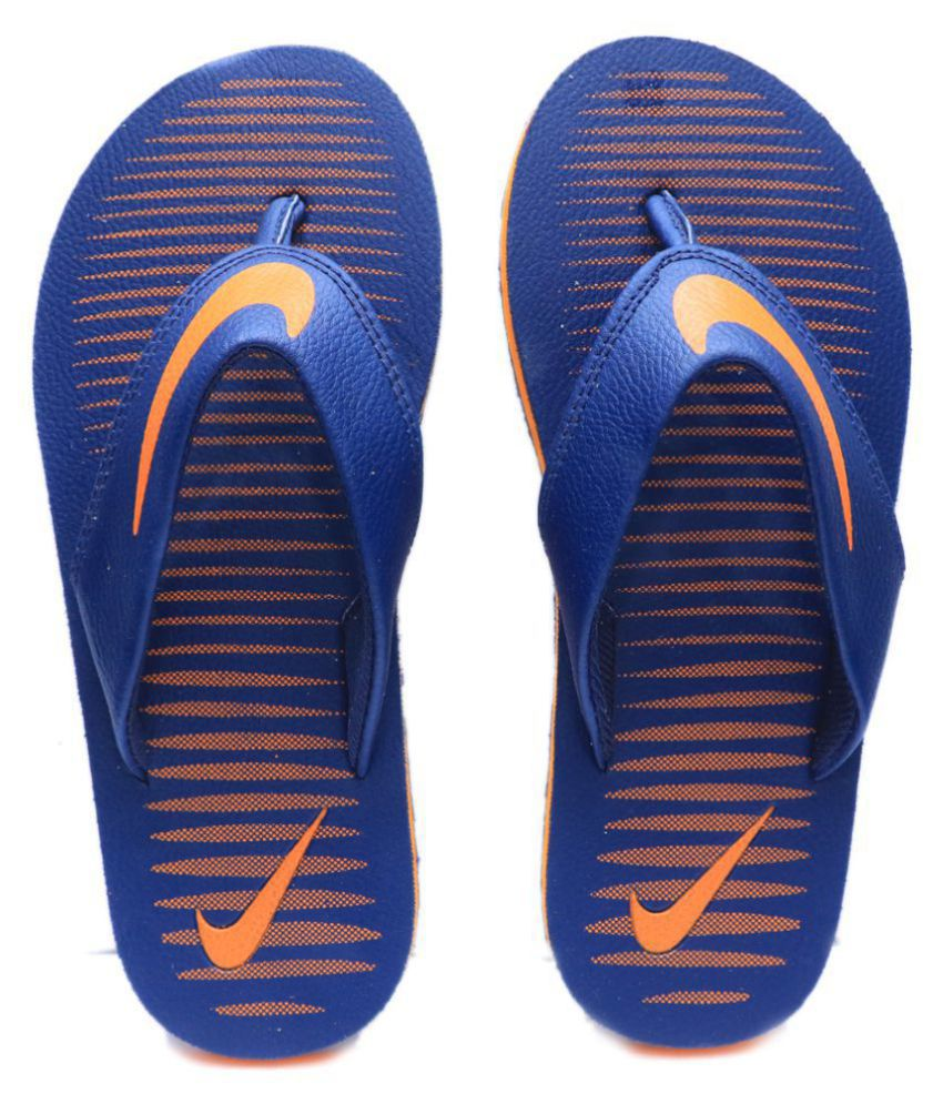 3ae53f052cff Nike Orange Thong Flip Flop Price in India- Buy Nike Orange Thong Flip Flop  Online at Snapdeal