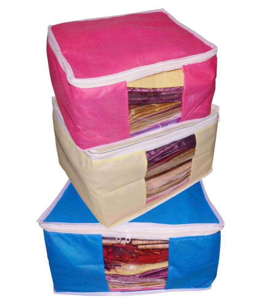 Afrose Multi Saree Covers - 3 Pcs