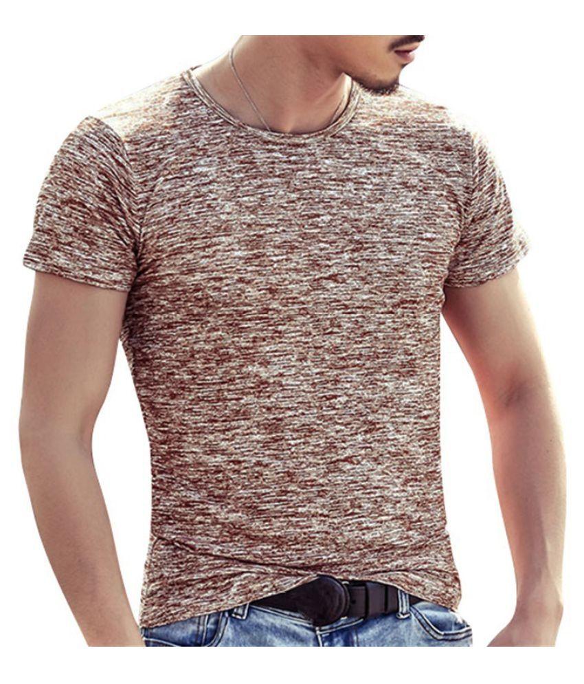 Changing Destiny Brown Cotton T-Shirt Single Pack