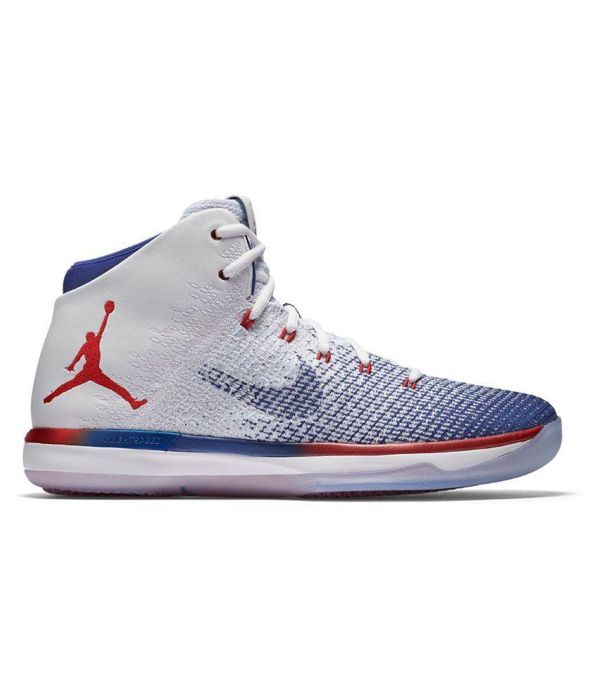 8f5ad026df0ef2 Nike Air Jordan XXXI 31 USA White Basketball Shoes - Buy Nike Air ...