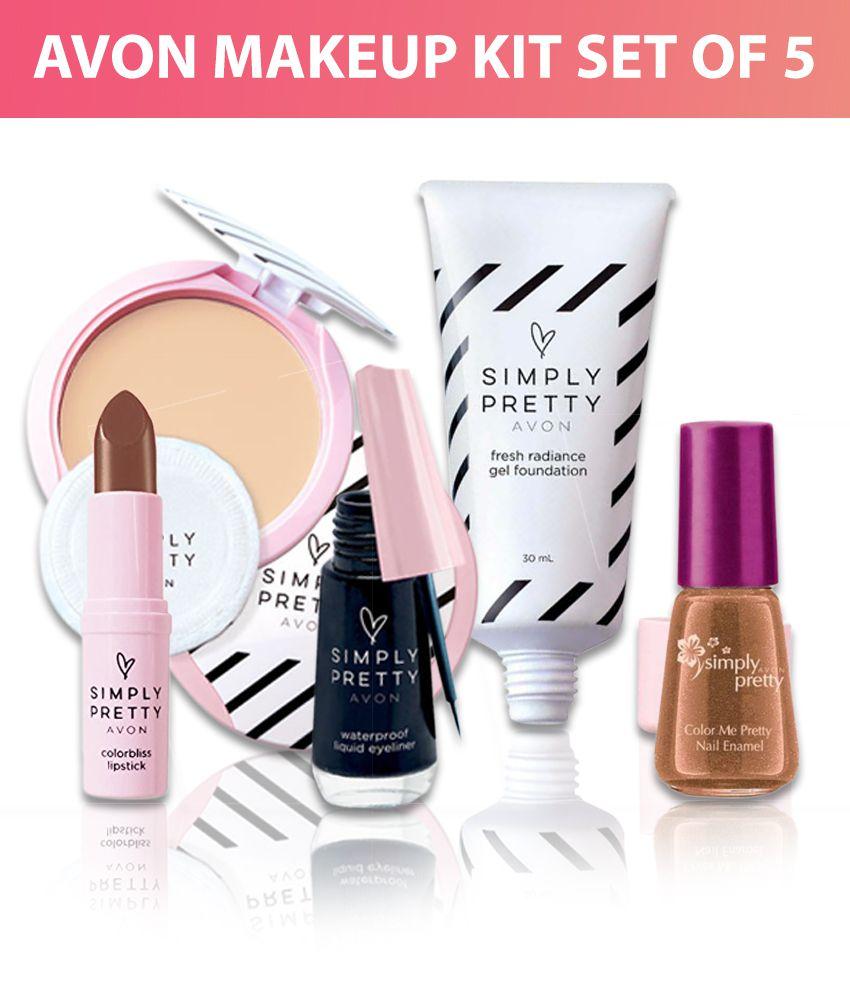 Avon Makeup Kits Set of 5