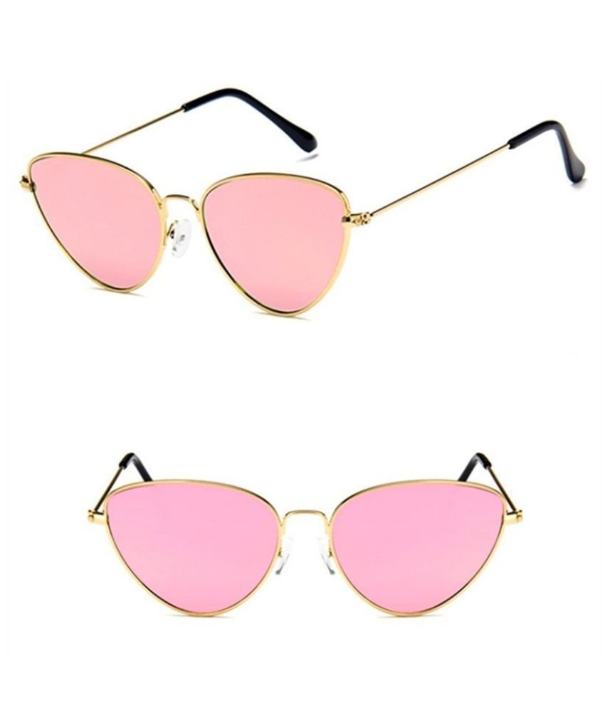 Swagger 7 Colors Cat Eye Tinted Color Lens Women Sunglasses Ladies Eyewear Beach Wearing Sold by ZXG