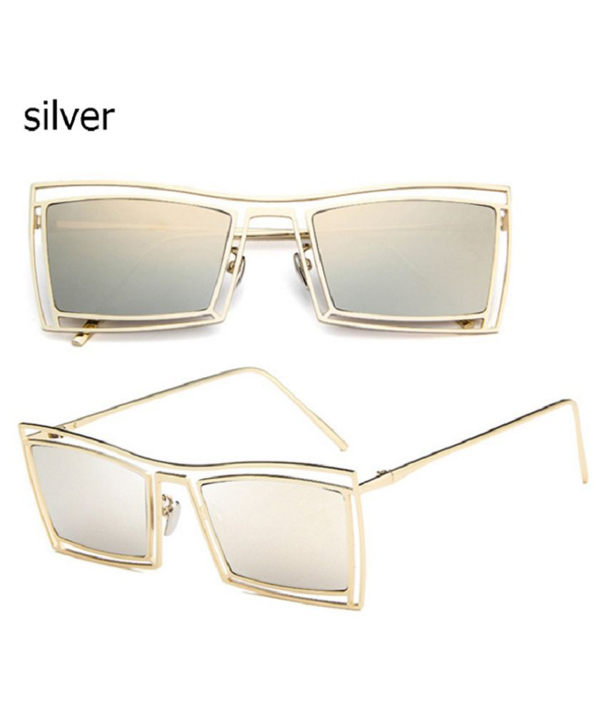 Swagger Hot Sale Pink Frame Eyeglasses Hollow Plush Hard Small Box Men and Women's Sunglasses Sold by ZXG
