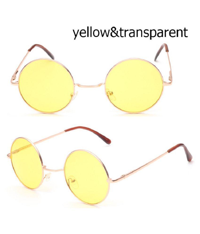 Swagger New Fashion Unisex Fashion Circle Sunglasses Glasses Colorful