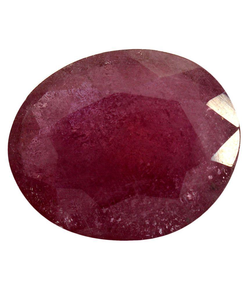pitliya jewellers 4  Ratti Self certified Red Ruby Precious Gemstone