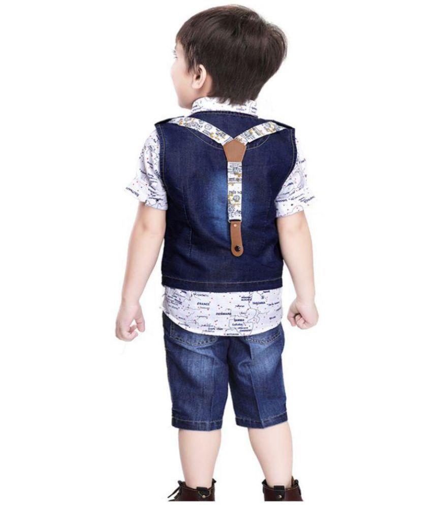 6016ef1358 ... Kooka Kids Boys Suit With Half Sleeves Shirt