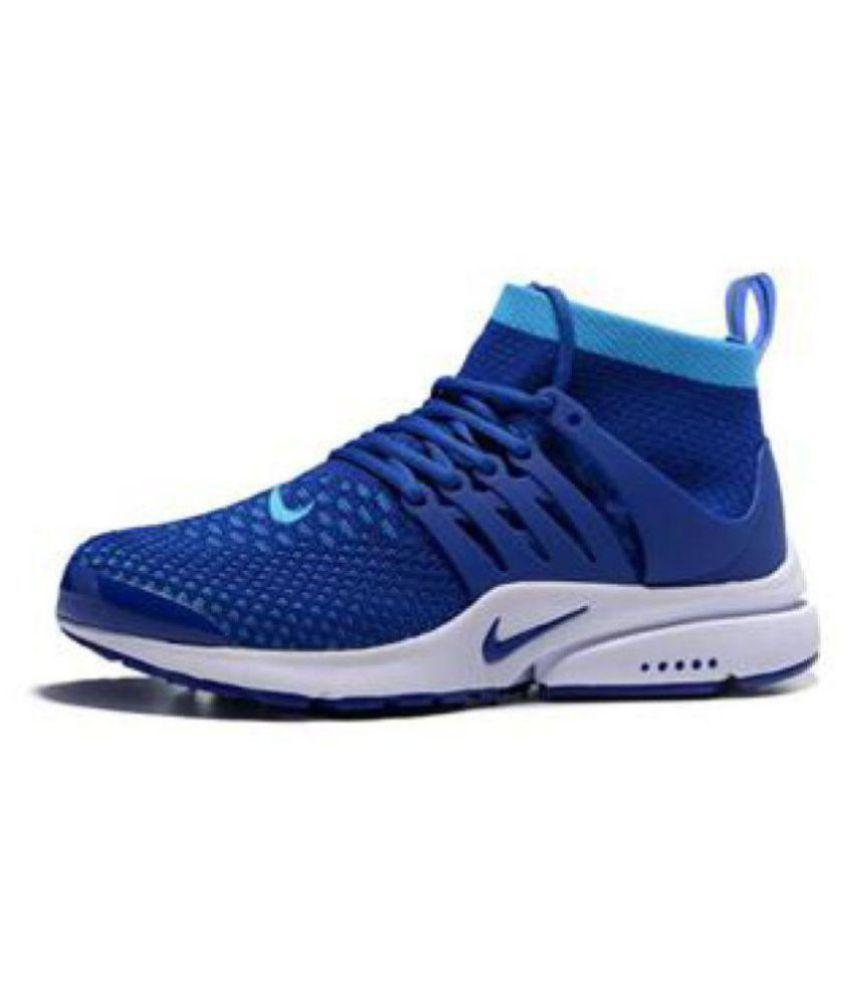 ... sale nike air presto flyknit blue running shoes 93408 e30b9 d64aead34