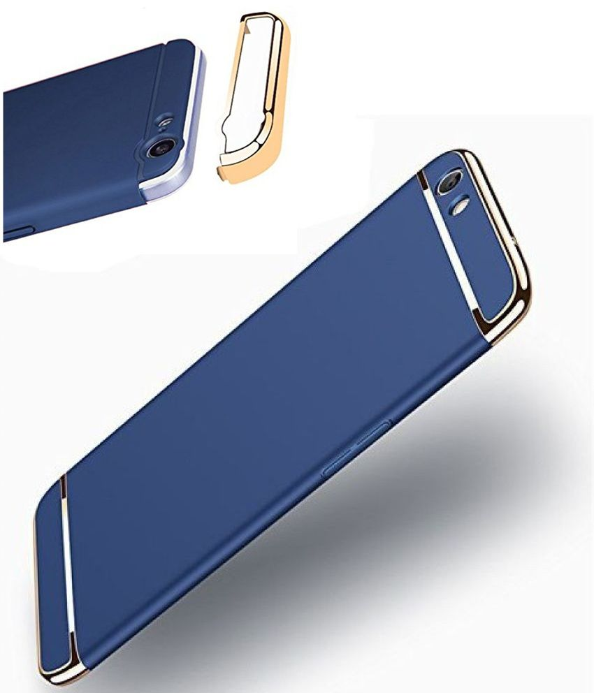 online store fdc98 4b430 Oppo A57 3in1 360 Protection Hard Plain Cases 2Bro - Blue
