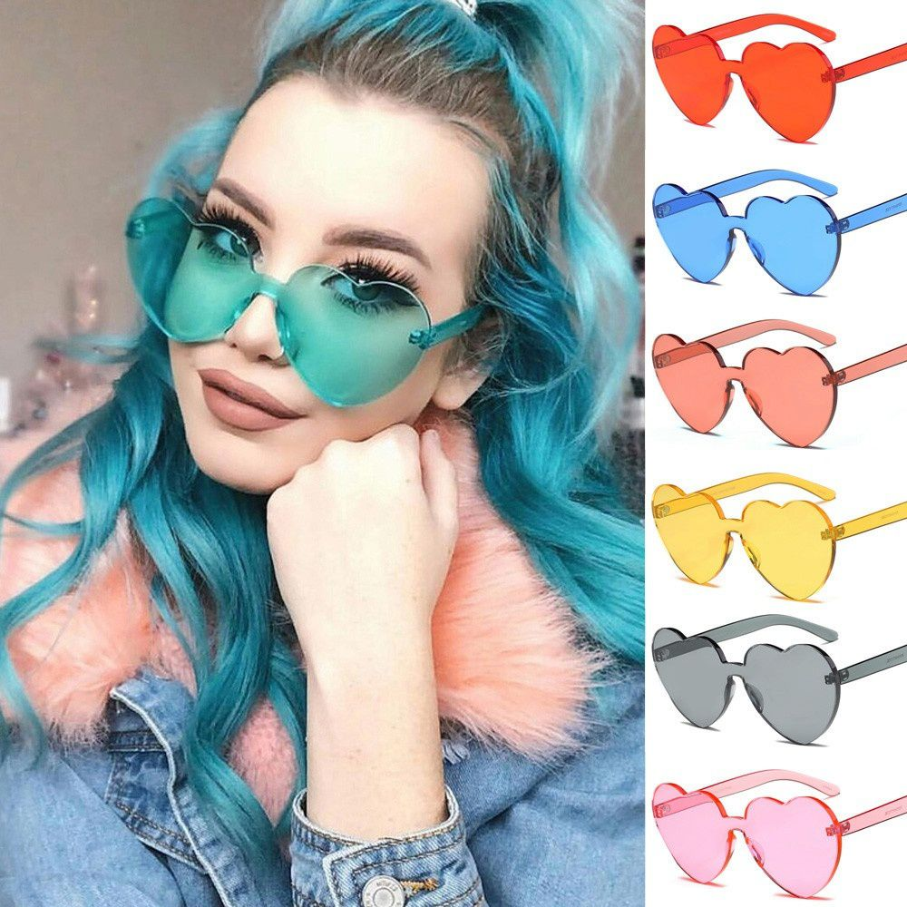 Swagger New Fashion Heart-Shaped Sunglasses Sold by ZXG