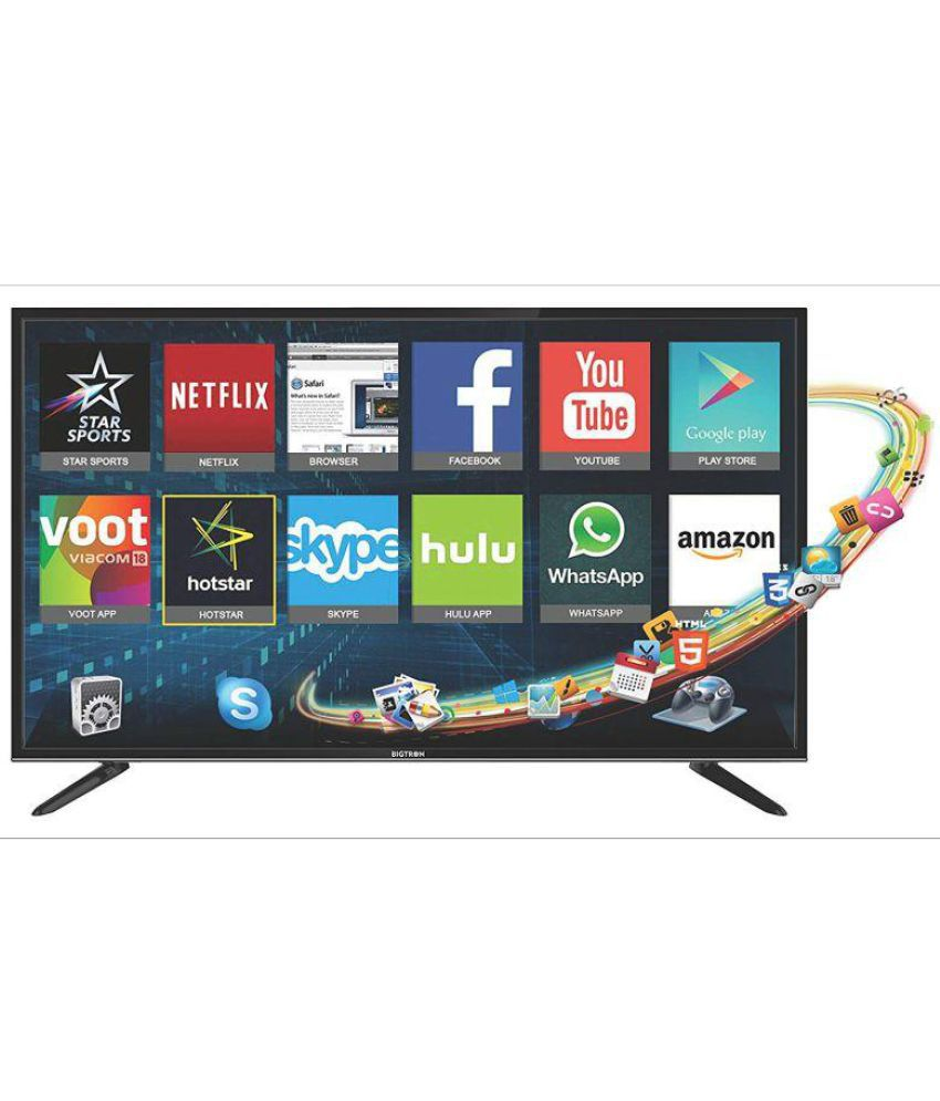 df7939d3ce53 Buy Bigtron 40B5500 102 cm (40) Smart Full HD (FHD) Smart LED Television  Online at Best Price in India - Snapdeal