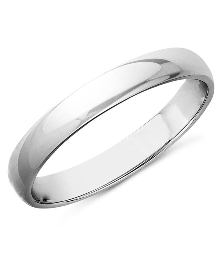 MJ 925 92.5 Silver Band Ring