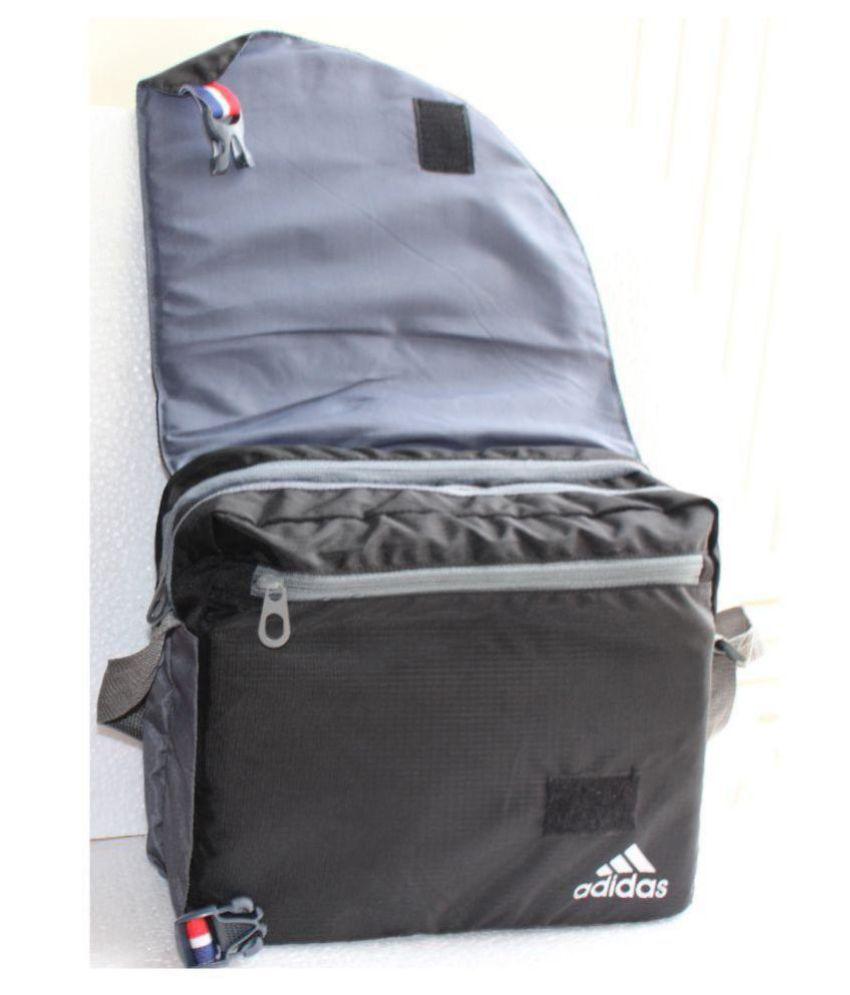 e61f824d7d Adidas NA Black Nylon Casual Messenger Bag Side Bag - Buy Adidas NA ...