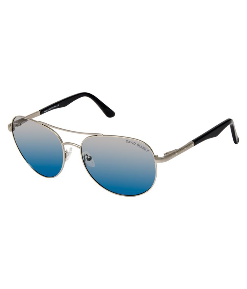 ccfd8288b67 David Blake Blue Aviator Sunglasses ( PM012 ) - Buy David Blake Blue Aviator  Sunglasses ( PM012 ) Online at Low Price - Snapdeal