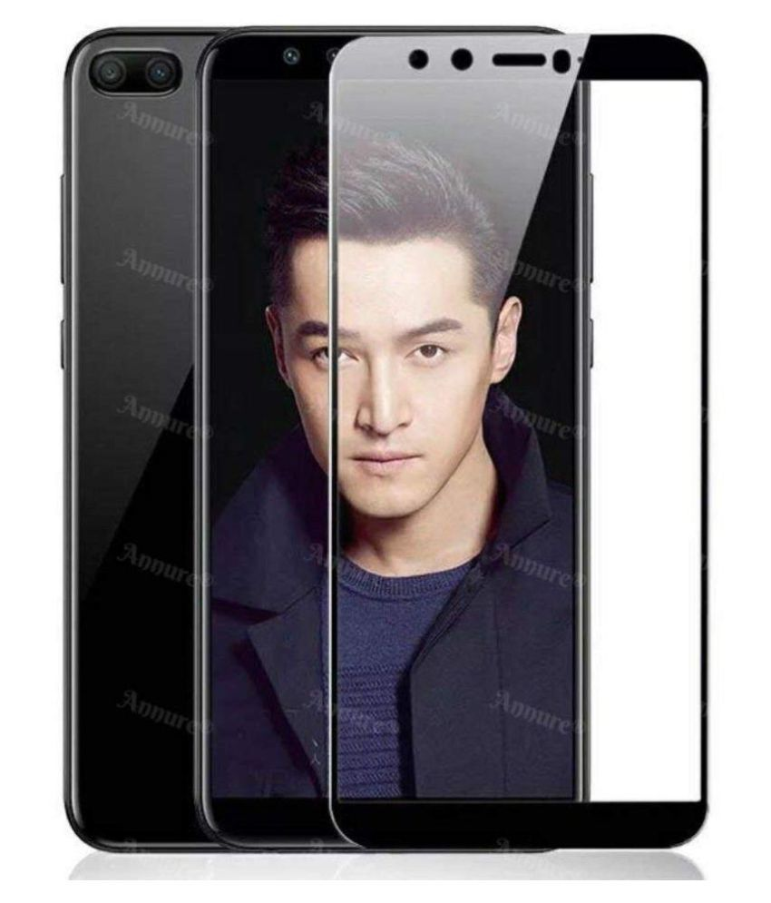 Honor 9 Lite 5D Tempered Screen Guard By GLAZE UV Protection, Anti Reflection.