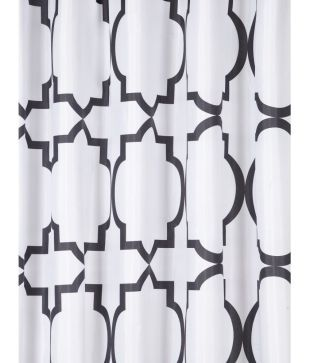 Bombay Dyeing Single Shower Curtain White 70x70